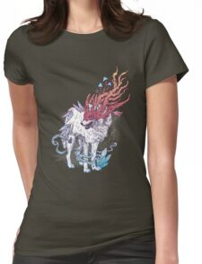 Spirit Animal - Wolf Womens Fitted T-Shirt