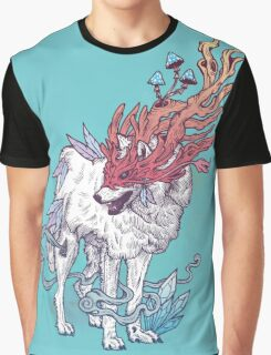 Spirit Animal - Wolf Graphic T-Shirt