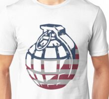 American Hand Grenade Unisex T-Shirt