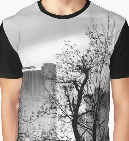 Marriott Hotel - Canadian Skyline Detail | Niagara Falls, New York Graphic T-Shirt