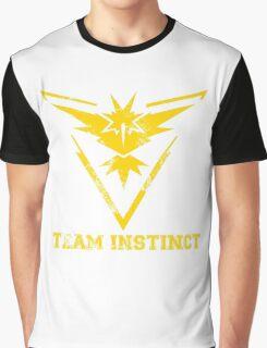 Team Instinct Yellow Graphic T-Shirt