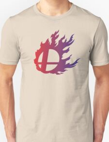 Super Smash Bros. Flame Unisex T-Shirt