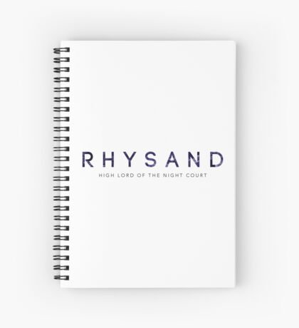 Rhysand Spiral Notebook