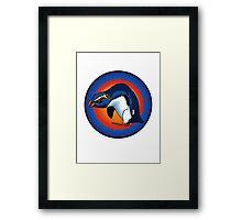 vXp - Vin the Xtreme Penguin Framed Print