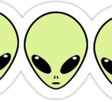 Alien Stickers Sticker