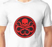Hydra Skull Design Unisex T-Shirt