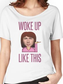 He Woke Up Like This Women's Relaxed Fit T-Shirt
