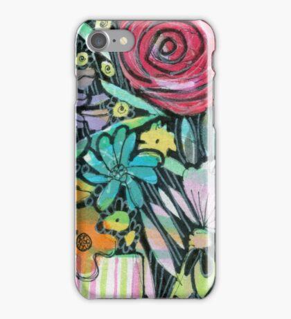 Little Stripey Vase - Kerry Beazley iPhone Case/Skin