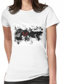 Black Hole no.2 Womens Fitted T-Shirt
