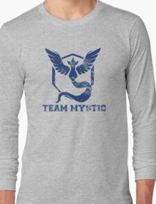 Team Mystic Blue Long Sleeve T-Shirt