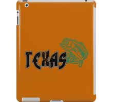 FISH TEXAS VINTAGE LOGO iPad Case/Skin