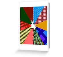 Sixth Doctor Who (Colin Baker) Greeting Card