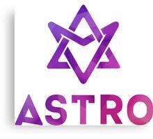 KPOP Astro Logo Shirt Canvas Print