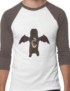 Demonic Bears Attack  Men's Baseball ¾ T-Shirt