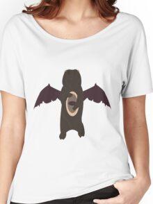 Demonic Bears Attack  Women's Relaxed Fit T-Shirt