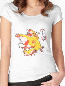 Team Valor -- Show Your Alliance Women's Fitted Scoop T-Shirt