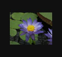 Purple Water Lily - Large Unisex T-Shirt