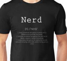 Nerd White Meanings Unisex T-Shirt