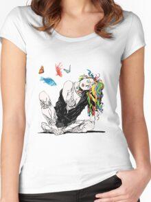Delirium The Sandman Vertigo Comics Women's Fitted Scoop T-Shirt