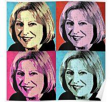 Theresa May Pop Art Poster