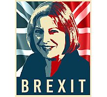 Theresa May Brexit Photographic Print