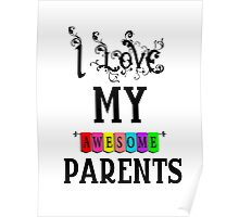 Parents mother father love Poster
