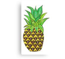 Perky Pineapple  Canvas Print