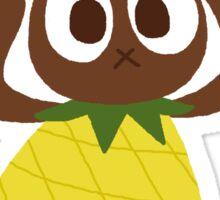 pineapple bunny Sticker