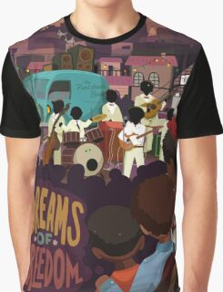 Dreams Of Freedom .. Watch Live Music Graphic T-Shirt