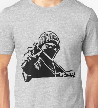 Rebel Protestor with Slingshot Unisex T-Shirt