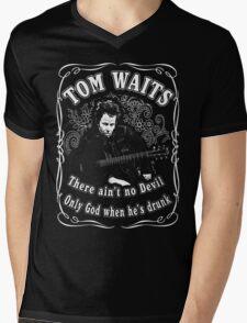 Tom Waits (There ain't no Devil) Mens V-Neck T-Shirt