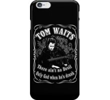 Tom Waits (There ain't no Devil) iPhone Case/Skin