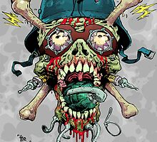 Death Reserve Necro Trooper Head by VonKreep