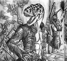 Battle T-Rex by predaguy