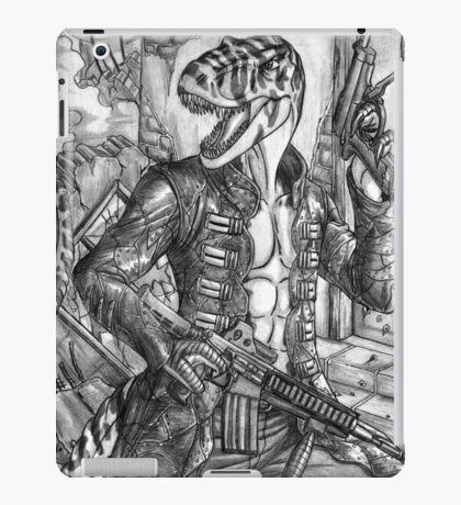 Battle T-Rex iPad Case/Skin