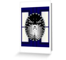 First Doctor Who (William Hartnell) Greeting Card