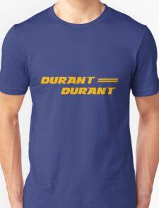 Kevin Durant Golden State Warriors Shirt (Duran Duran Tribute) Unisex T-Shirt