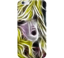 The Blonde Girl with Dishevelled Hair iPhone Case/Skin