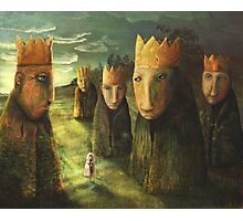 In the Company of Kings Photographic Print