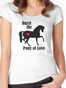 Daryl the Pony of Love Women's Fitted Scoop T-Shirt
