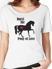 Daryl the Pony of Love Women's Relaxed Fit T-Shirt