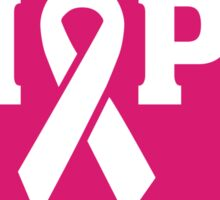 Breast Cancer Awareness - Hope Pink Ribbon T Shirt Sticker
