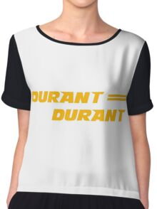 Kevin Durant Golden State Warriors Shirt (Duran Duran Tribute) Chiffon Top