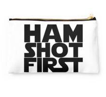 Ham Shot First Studio Pouch