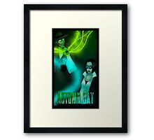 Autumn Bay - Nestor and Mercy Framed Print