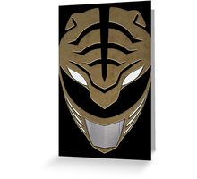 Go White Ranger Go Greeting Card