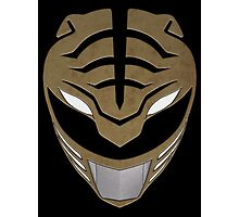Go White Ranger Go Photographic Print