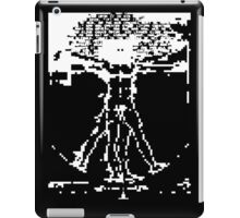 invasion of the vitruvian snatchers (reverse) iPad Case/Skin