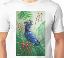 The Glorious Palm Cockatoo Unisex T-Shirt