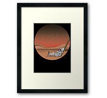Mars is Lovely... Framed Print